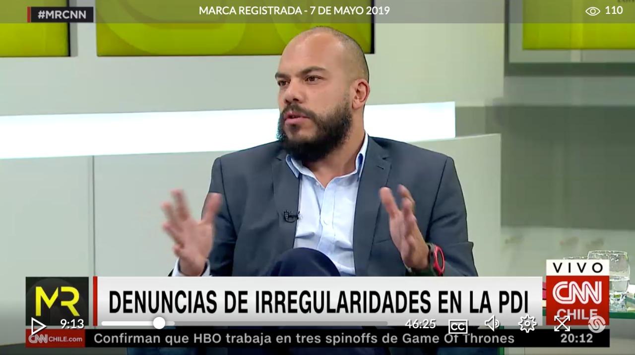 Marca Registrada: Director Ejecutivo de Chile 21 analiza denuncias de irregularidades en la PDI y los desafíos de las policías en Chile