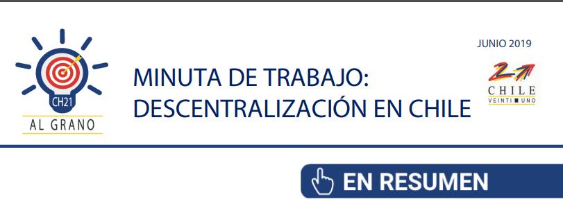 Al Grano: Descentralización en Chile