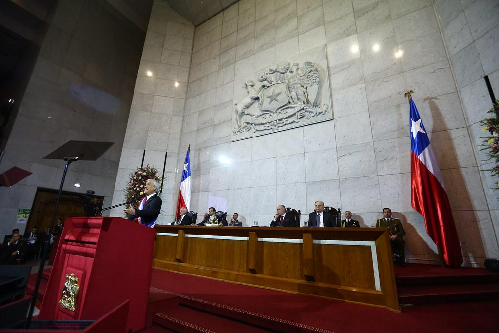 Presidenta de Chile 21 analiza Cuenta Pública presidencial