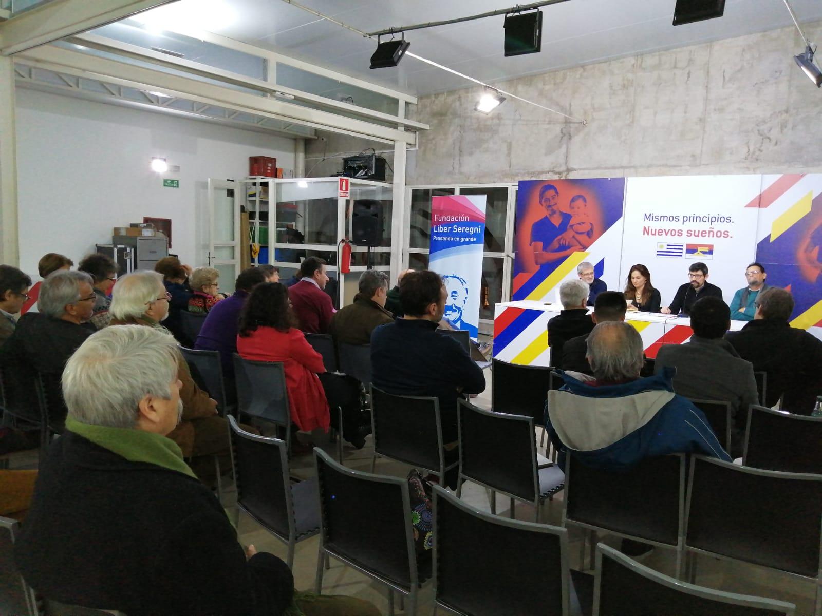 Presidenta de Chile 21 asiste a Primer encuentro de trabajo de la Red de Fundaciones de Izquierda y Progresista de América Latina