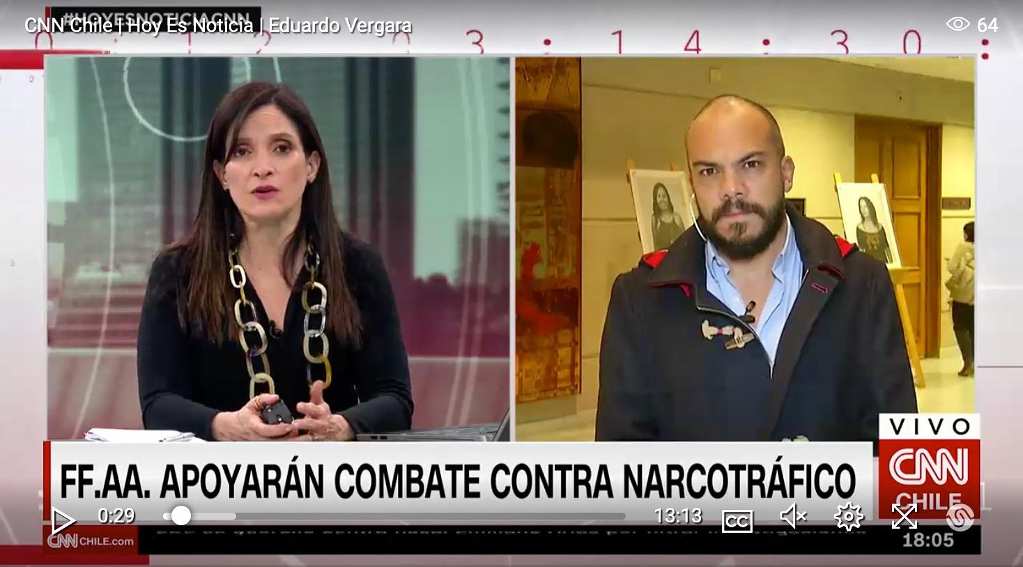 """Director ejecutivo de Chile 21 y función de FF.AA. contra el narcotráfico: """"Es una muestra más de una política populista"""""""