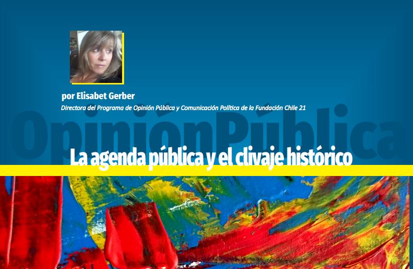 La agenda pública y el clivaje histórico