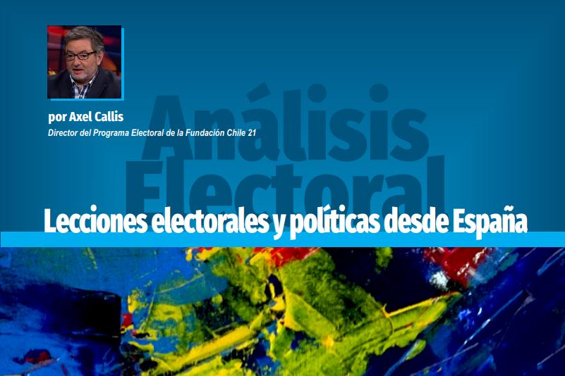 Lecciones electorales y políticas desde España