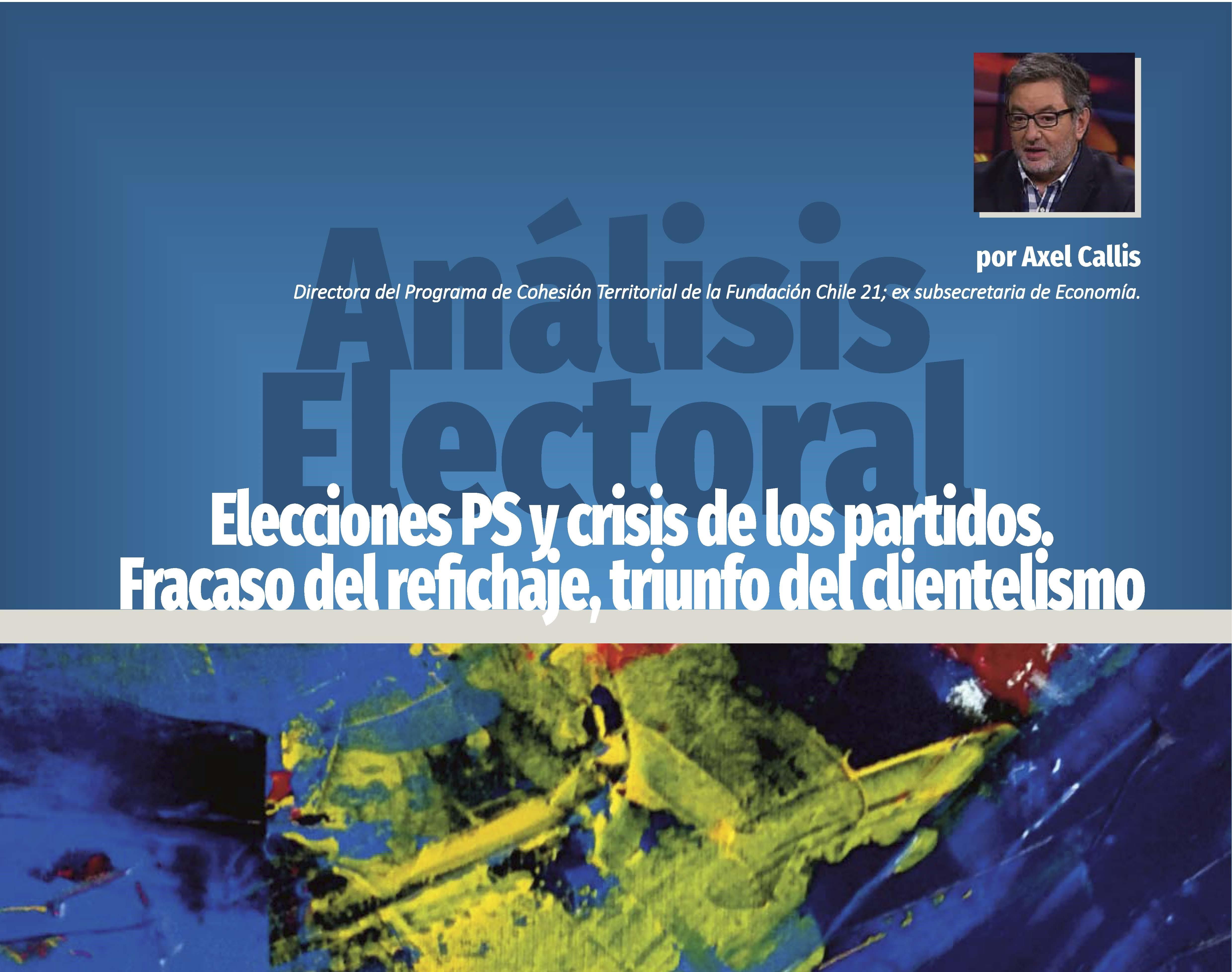 Elecciones PS y crisis de los partidos. Fracaso del refichaje, triunfo del clientelismo