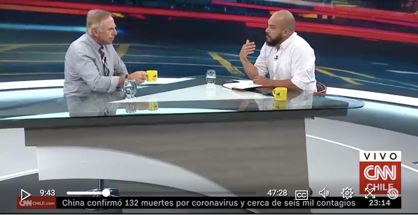"""Eduardo Vergara: """"La actitud del Gobierno es que está dejando que Carabineros llegue al borde de un precipicio"""""""