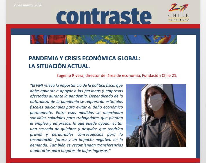 Pandemia y crisis económica global: La situación actual