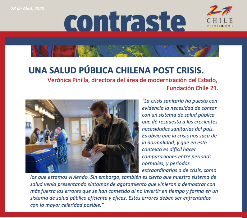 UNA SALUD PÚBLICA CHILENA POST CRISIS