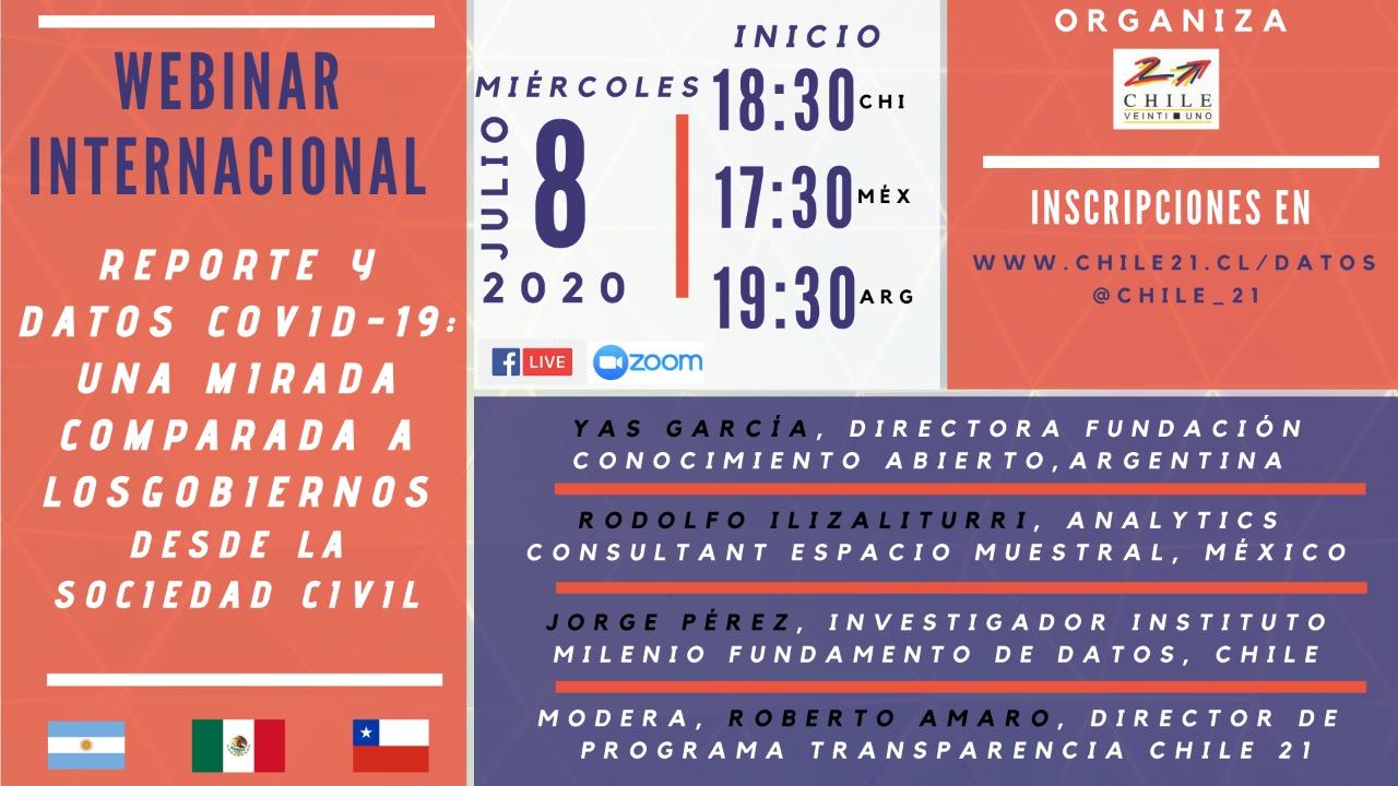 REPORTE Y DATOS COVID: UNA MIRADA COMPARADA A LOS GOBIERNOS DESDE LA SOCIEDAD CIVIL