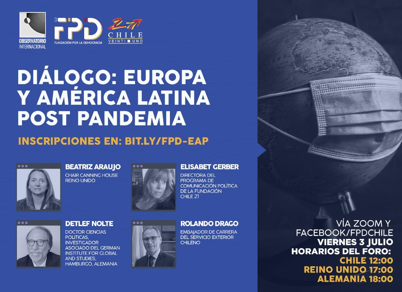 Diálogo: Europa y América Latina Post Pandemia