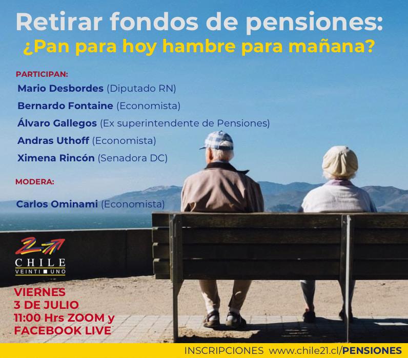 Retirar fondos de pensiones: ¿Pan para hoy hambre para mañana?
